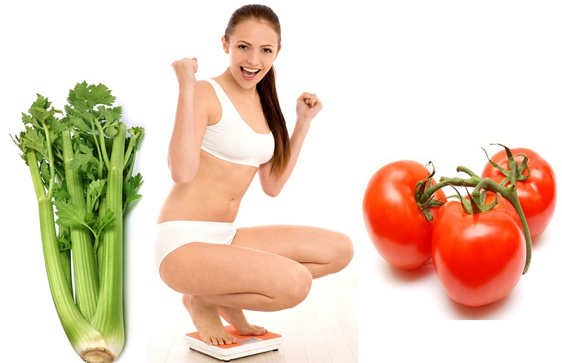 Ăn cần tây hay cà chua sẽ giúp giảm cân nhanh hơn 2