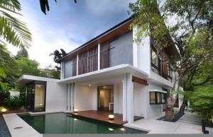 ấn tượng với mẫu nhà đơn giản nhưng đầy đủ tiện nghi và hiện đại
