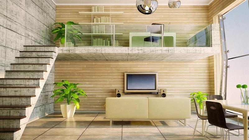 ấn tượng với mẫu nhà đơn giản nhưng đầy đủ tiện nghi và hiện đại 1