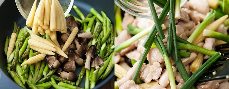 Mê mẩn ăn ngon với gà xào kiểu Thái cho người nghiện rau 3