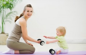 http://www.dreamstime.com/royalty-free-stock-photography-mother-baby-spending-time-gym-image24900647