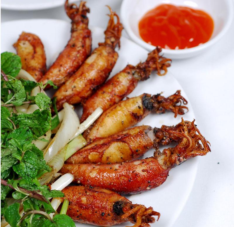 Mực nướng sa tế cay cay, món ngon cho ngày mưa thêm ấm áp 4