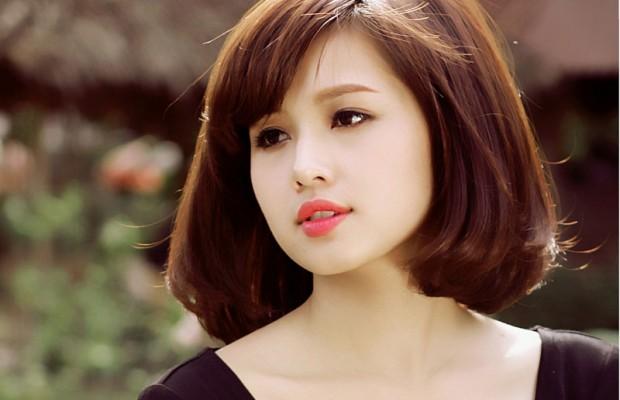 những kiểu tóc đẹp cho bạn gái có khuôn mặt tròn