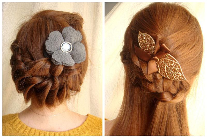 Những kiểu tóc tết đẹp cho bạn gái thêm nữ tính và điệu đà 13