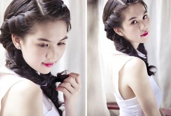 Những kiểu tóc tết đẹp cho bạn gái thêm nữ tính và điệu đà 16