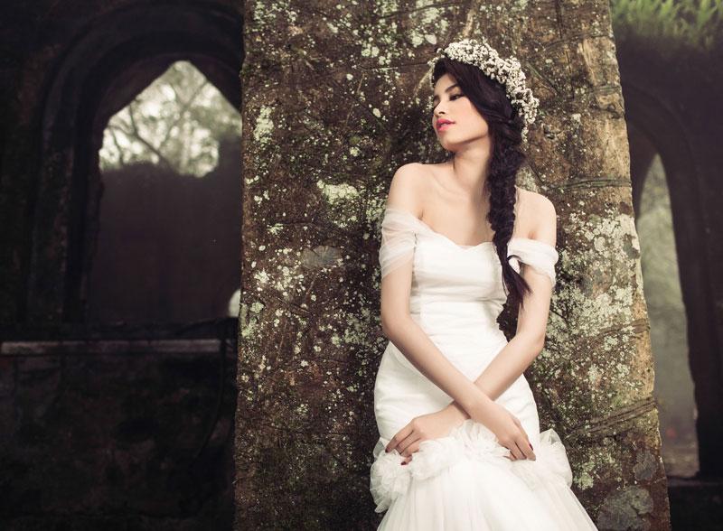 những kiểu tóc tuyệt đẹp và quyến rũ cho cô dâu 1