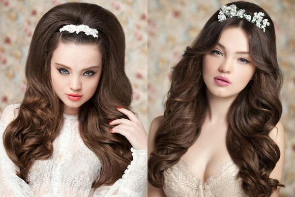những kiểu tóc tuyệt đẹp và quyến rũ cho cô dâu 11
