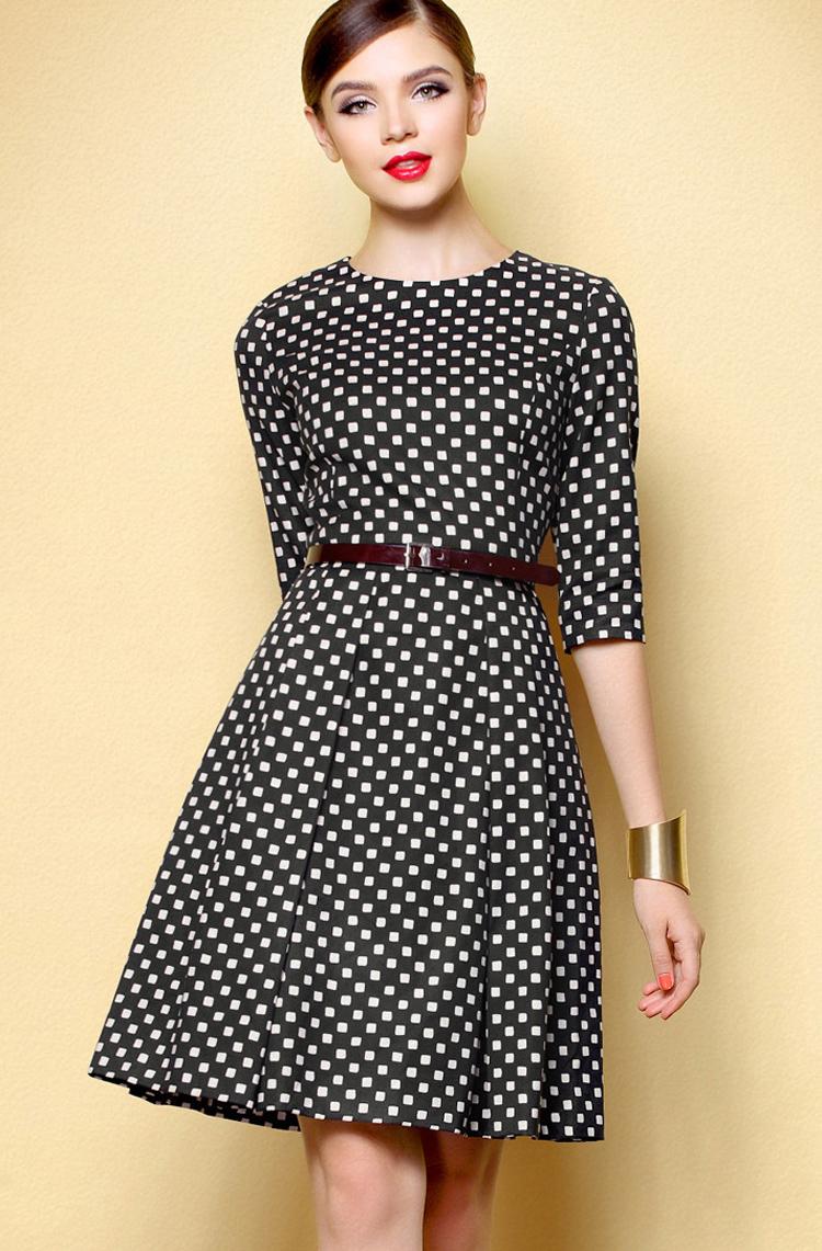Những mẫu váy ấn tượng cho cô nàng công sở nổi bật ngày hè 5