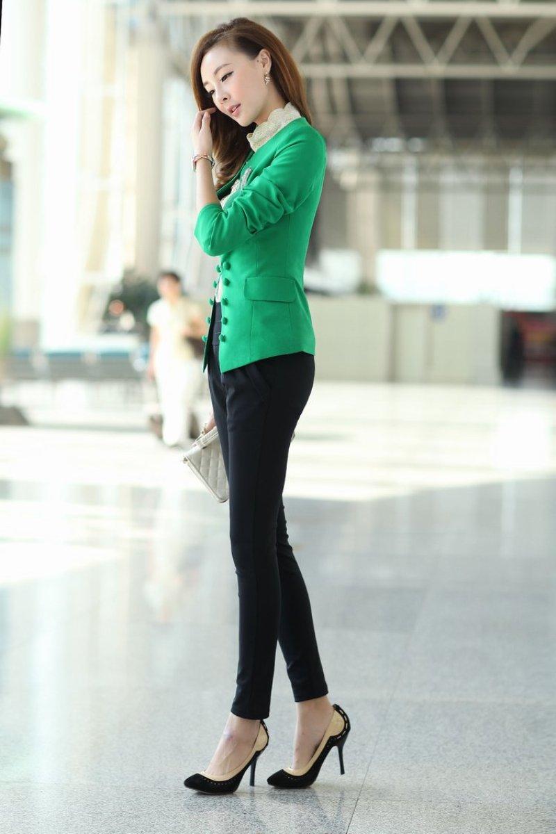 Những mẫu áo khoác sang trọng dành cho cô nàng công sở 3
