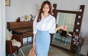 Phong cách chân váy ôm khiến cô nàng văn phòng mê mẩn