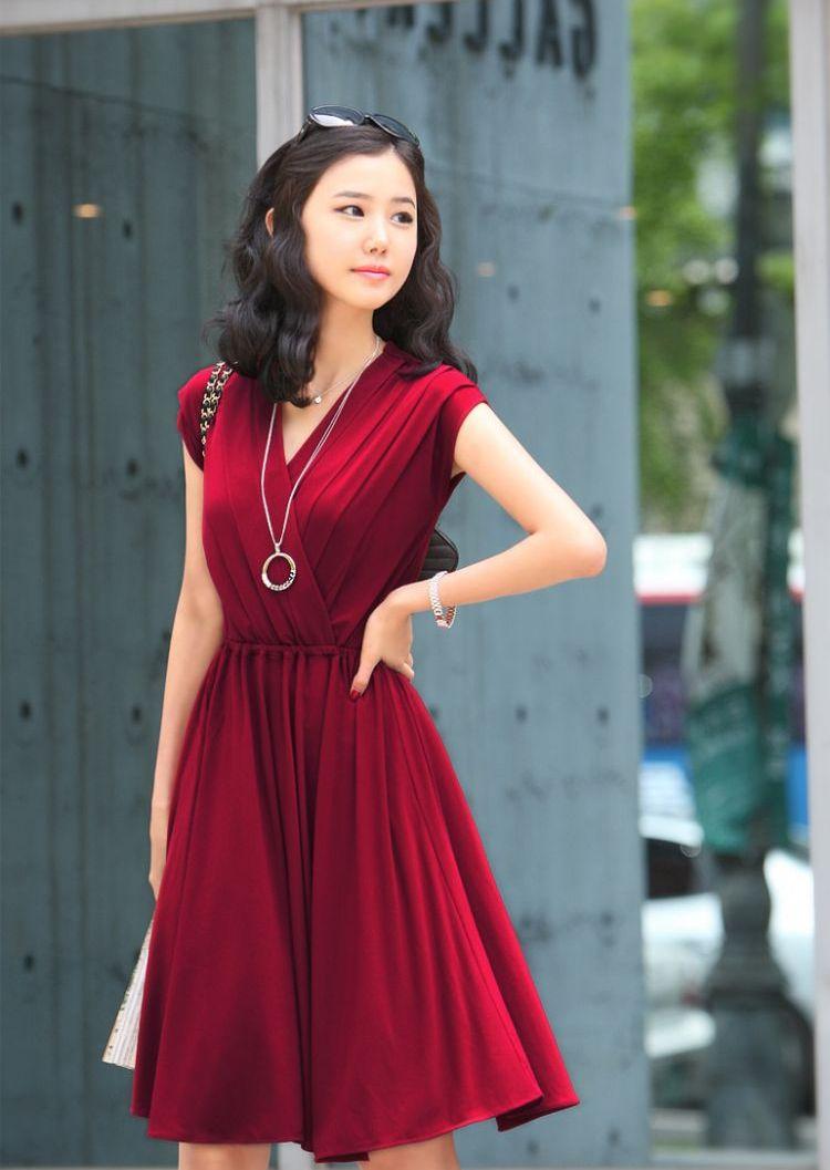 Xu hướng thời trang công sở với gam màu đỏ nổi bật quyến rũ 4