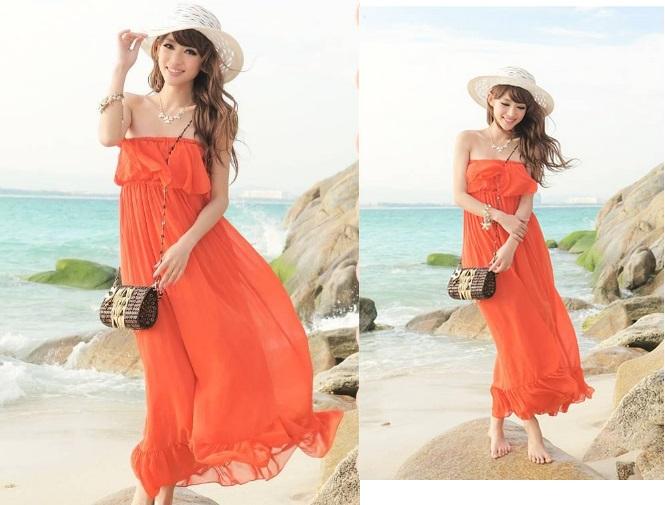 Chọn trang phục cho nàng đi biển thật sự ấn tượng và bắt mắt 7
