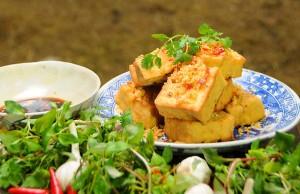 Đậu phụ chiên xả ớt món ngon cho người ăn chay