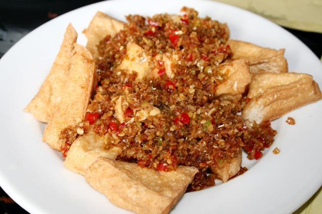 Đậu phụ chiên xả ớt món ngon cho người ăn chay 5