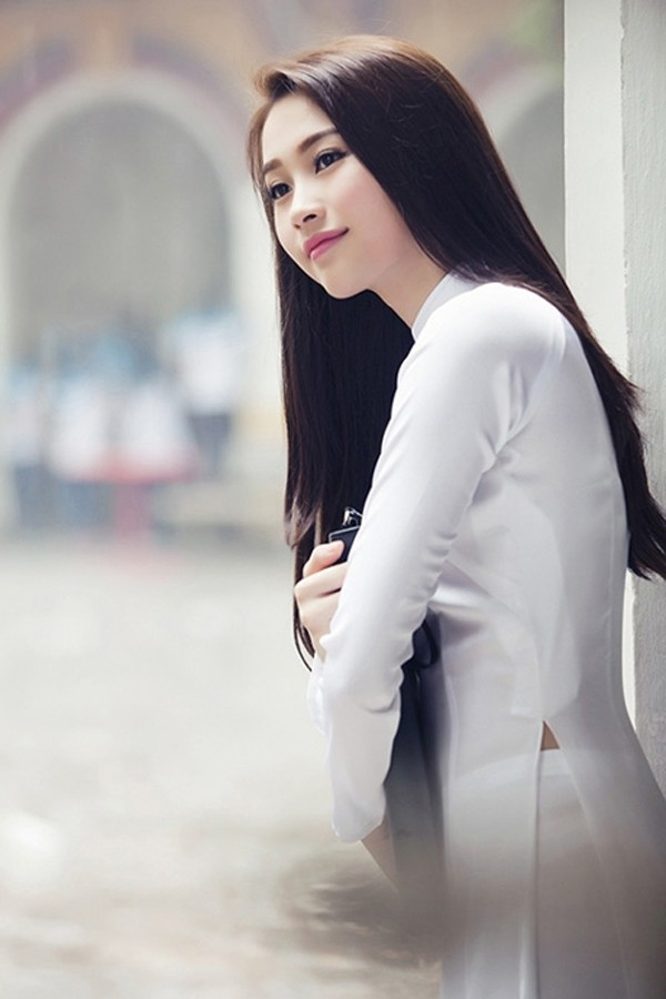 Những kiểu tóc tuyệt đẹp hợp khi bạn mặc áo dài 2