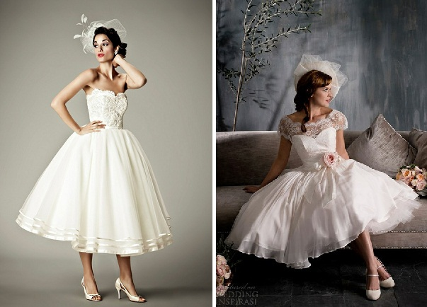 Rạng ngời hơn trong ngày cưới với những mẫu váy cưới ngắn 4