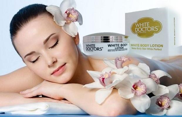 White Body Lotion