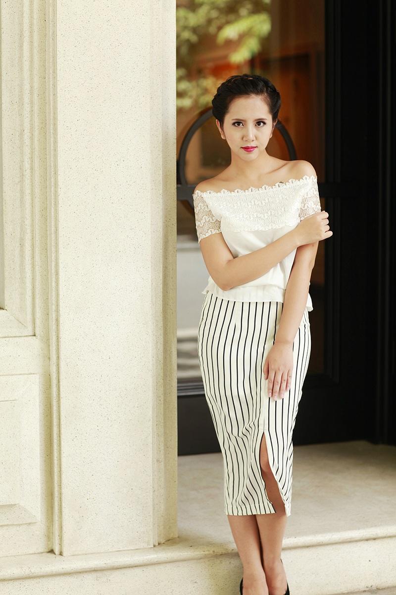 Chân váy bút chì - Thời trang không thể thiếu của các nàng công sở 3