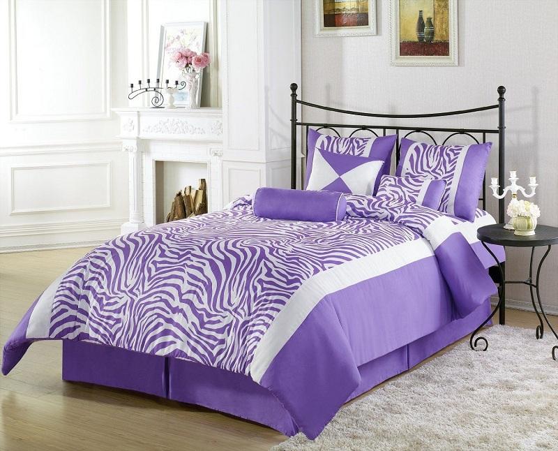 Phòng ngủ màu tím giúp giấc ngủ của bạn thêm ngọt ngào 1