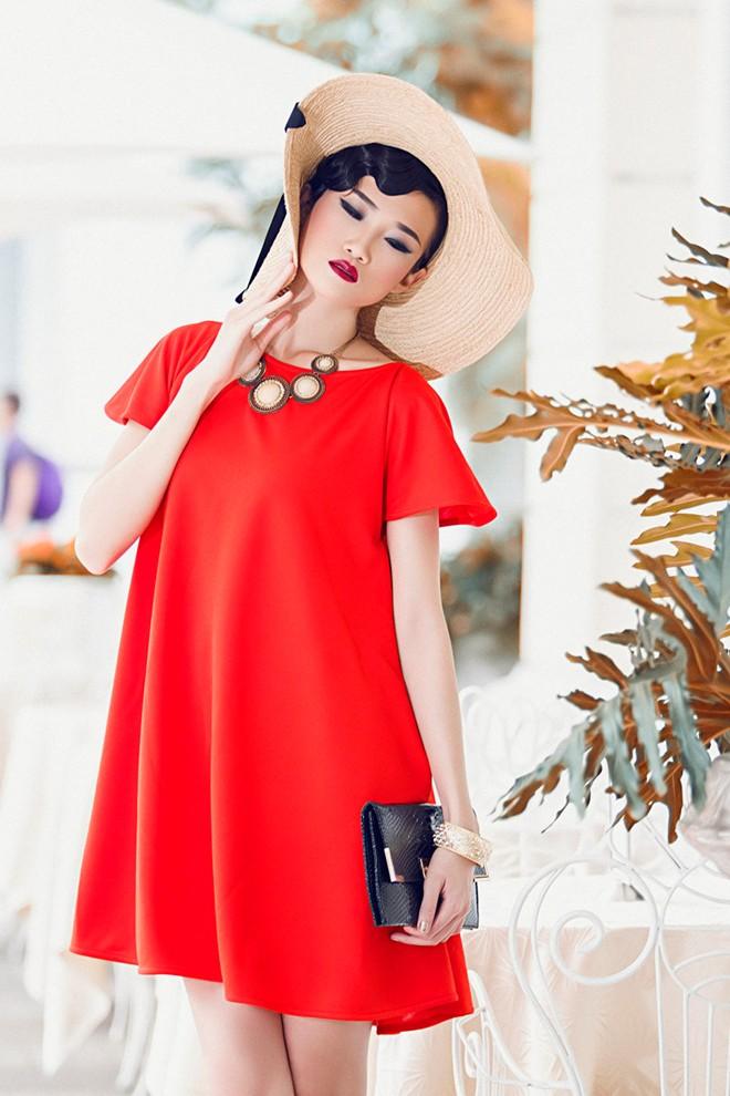 Váy liền thời trang giúp nàng công sở duyên dáng hơn 11