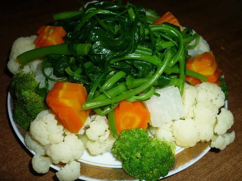 Bí quyết giúp giảm cân nhanh chóng từ những món rau luộc 1