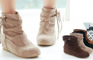 Boot cổ ngắn giúp bạn gái cá tính hơn trong những ngày lạnh 0