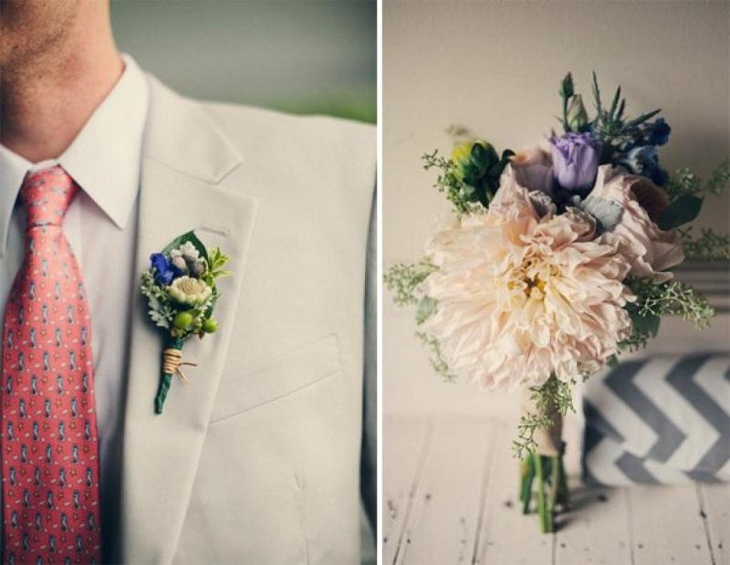 Mẹo hay để chọn hoa cài áo giúp chú rể ấn tượng hơn trong ngày cưới 3