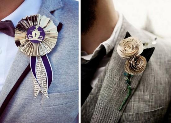 Mẹo hay để chọn hoa cài áo giúp chú rể ấn tượng hơn trong ngày cưới 6