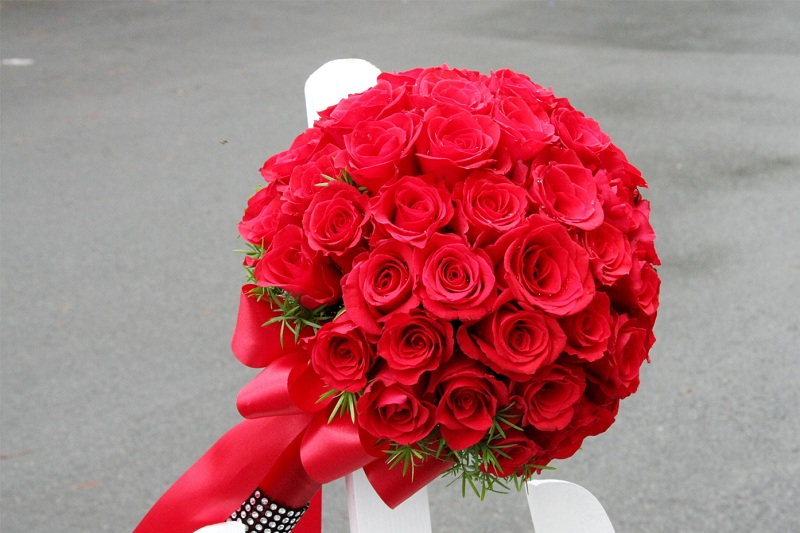 Những mẫu hoa cầm tay cô dâu tuyệt đẹp giúp ngày cưới thêm lãng mạng 3