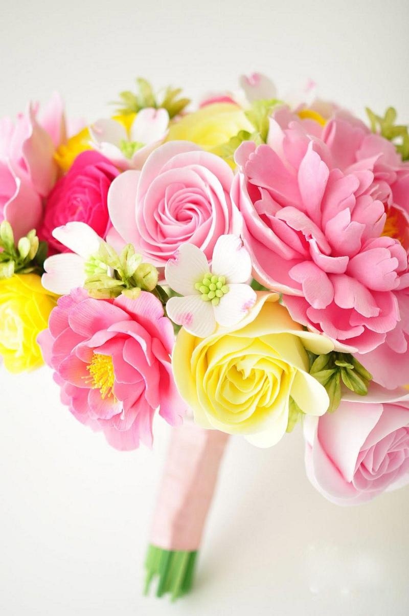 Những mẫu hoa cầm tay cô dâu tuyệt đẹp giúp ngày cưới thêm lãng mạng 7