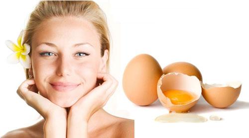 Mẹo làm đẹp đơn giản dễ làm với mặt nạ trứng gà