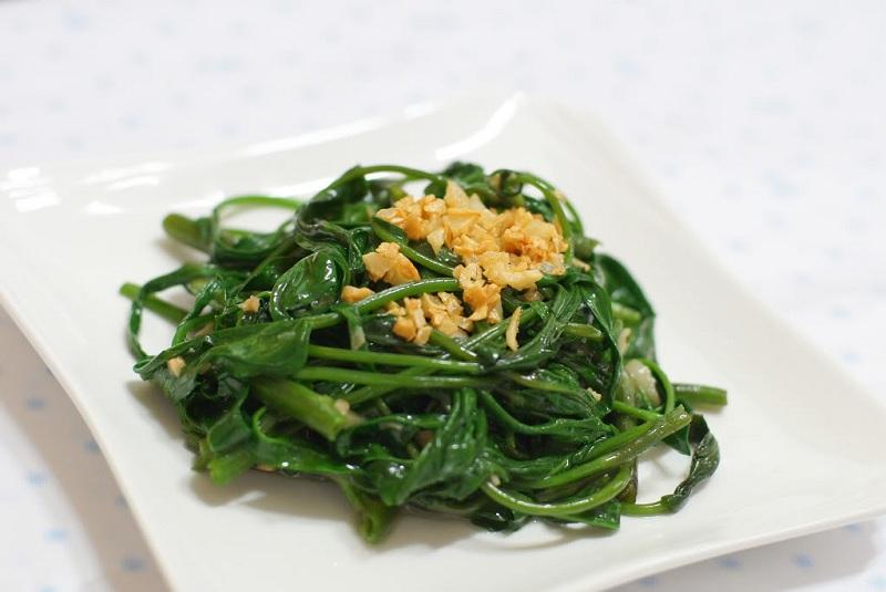 Thực đơn giảm cân hoàn hảo với rau xanh ngày thứ ba