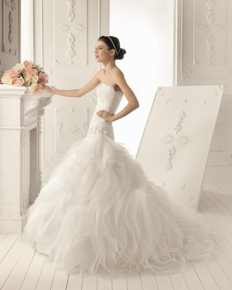 Váy đuôi cá -  Mẫu váy cưới không thể thiếu dành cho các cô dâu trẻ 2