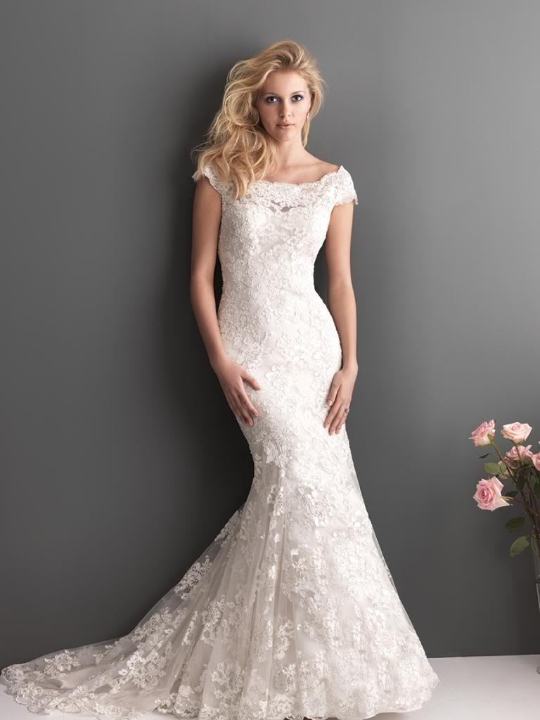 Váy đuôi cá -  Mẫu váy cưới không thể thiếu dành cho các cô dâu trẻ 3
