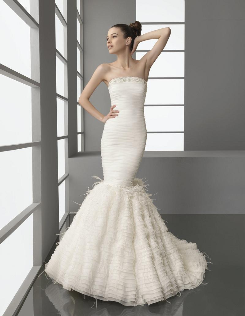 Váy đuôi cá -  Mẫu váy cưới không thể thiếu dành cho các cô dâu trẻ 5