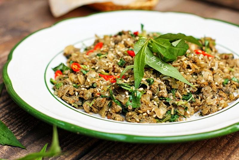 Món ăn được chế biến từ những nguyên liệu quen thuộc, với cách chế biến đơn giản