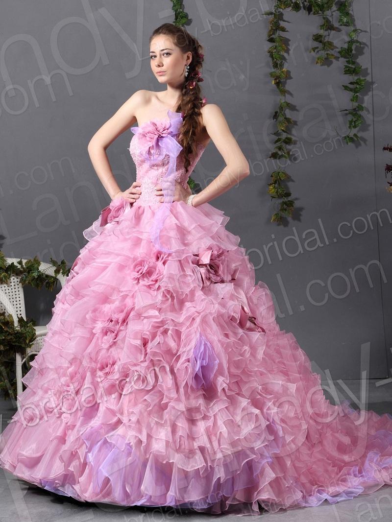 Giúp cô dâu thêm quyến rũ, dịu dàng nhờ những màu váy cưới ngọt ngào 2