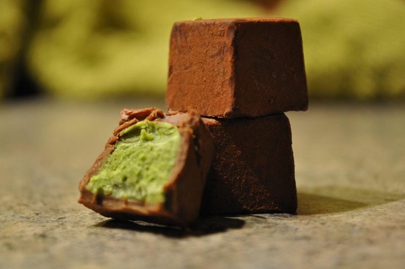 Chocolate tươi vị trà xanh thơm ngon hấp dẫn