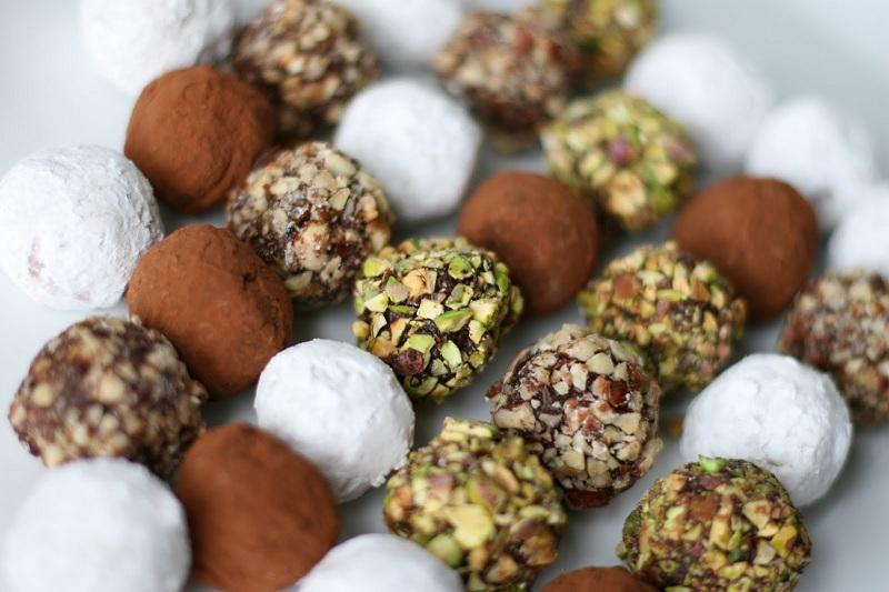 Những viên chocolate truffle ngọt ngào như chính tình yêu của bạn