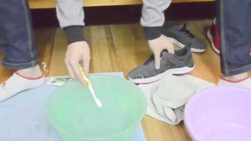 Mỗi loại giày có một cách làm sạch đặc biệt riêng.