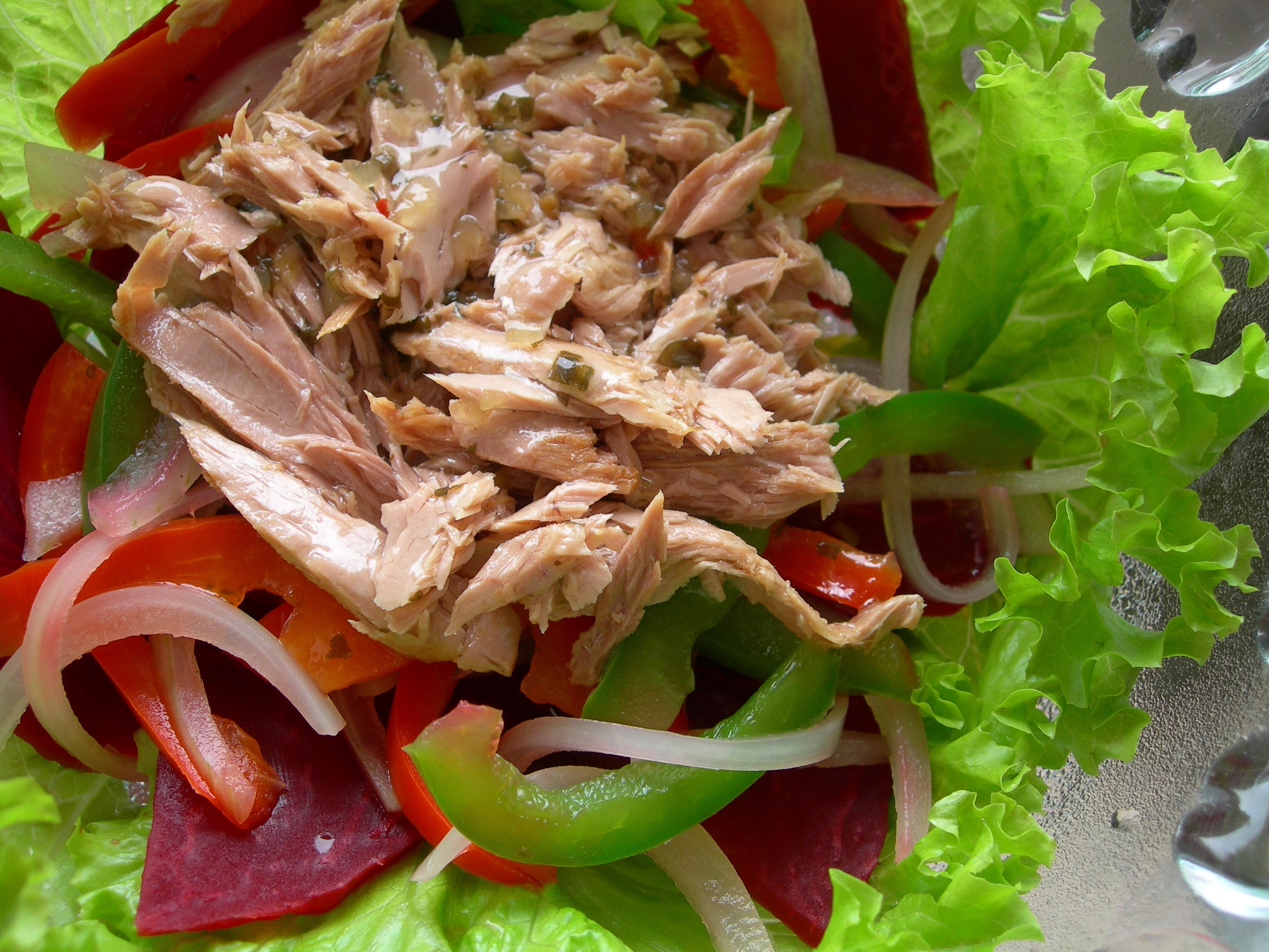 Kết quả hình ảnh cho salad cá ngừ