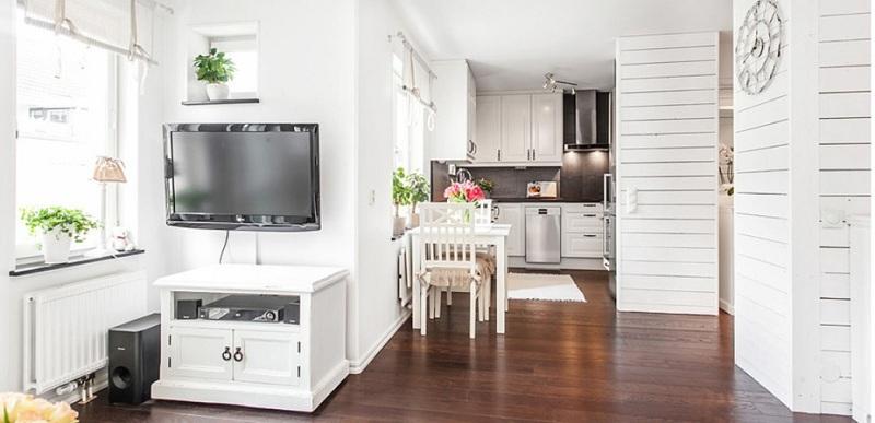 Giúp căn nhà trở nên rộng rãi, sang trọng hơn với nội thất màu trắng 1