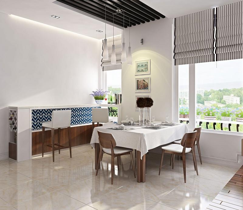 Giúp căn nhà trở nên rộng rãi, sang trọng hơn với nội thất màu trắng 5