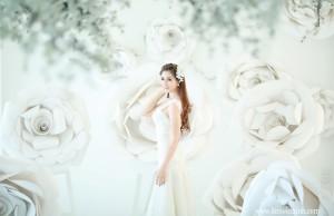 Những kiểu tóc buông dài giúp cô dâu xinh hơn trong ngày cưới 0