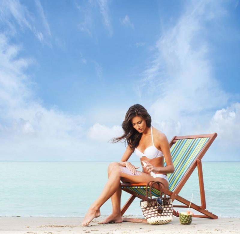 Kem chống nắng là sự bổ sung lý tưởng cho vùng cổ của bạn.