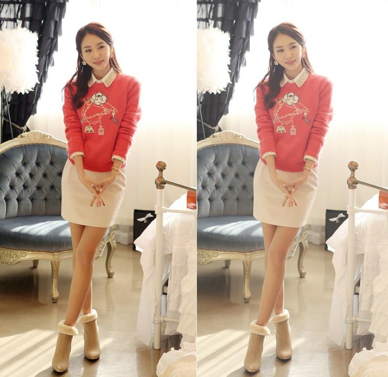 Thị trường áo len đa dạng và cực sôi động cho nàng công sở.