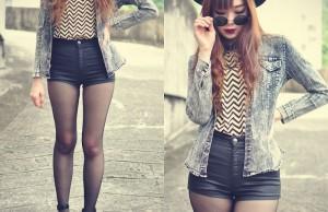 Chọn trang phục đúng cách giúp bạn che đi khuyết điểm lưng dài chân ngắn 0
