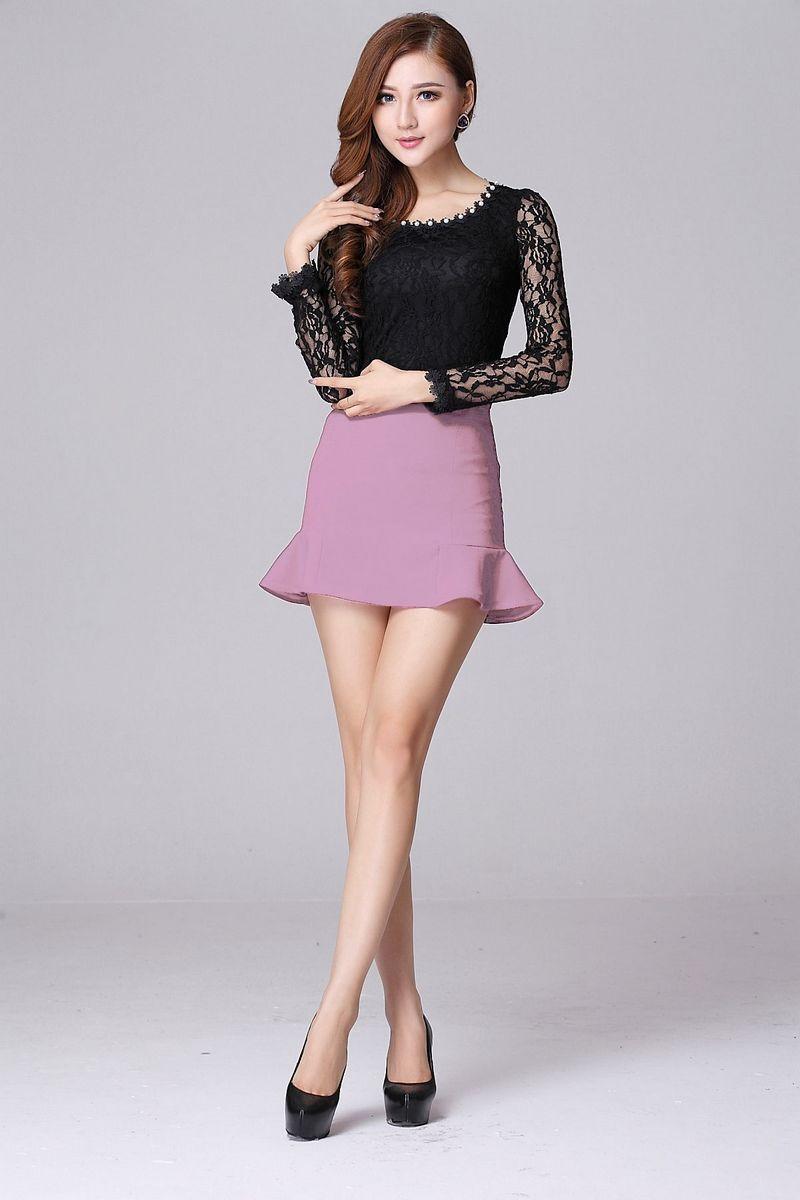 Chọn trang phục đúng cách giúp bạn che đi khuyết điểm lưng dài chân ngắn 5