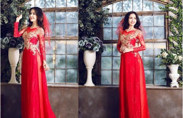 Giúp cô dâu rạng rỡ, hạnh phúc hơn trong ngày cưới nhờ những chiếc váy đỏ 0