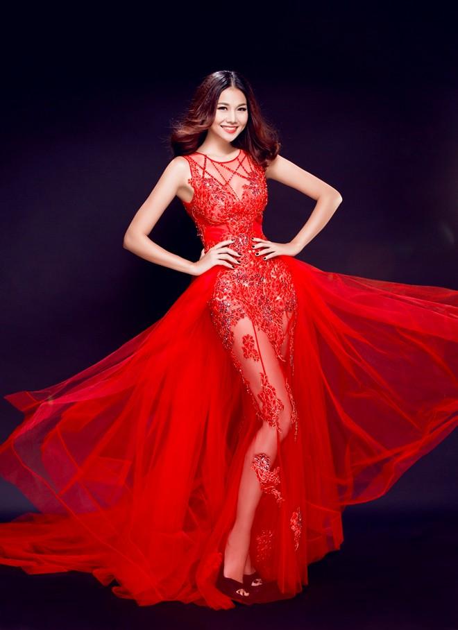 Giúp cô dâu rạng rỡ, hạnh phúc hơn trong ngày cưới nhờ những chiếc váy đỏ 1